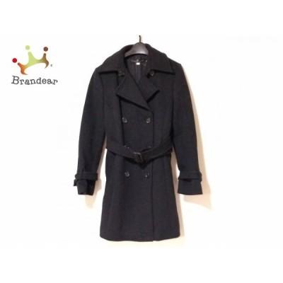 ミッシェルクラン MICHELKLEIN コート サイズ38 M レディース 黒 冬物     スペシャル特価 20201128