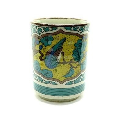 九谷焼 湯のみ 古九谷花鳥 陶器 和食器 湯呑み茶碗 日本製