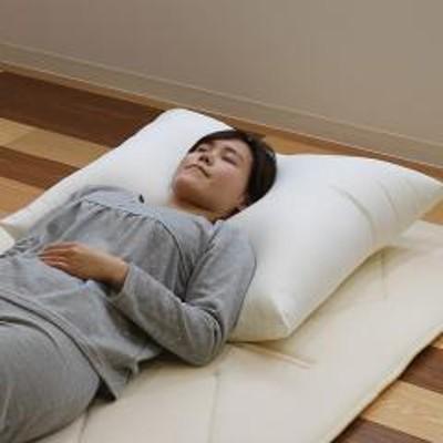 枕 ふわふわ 肩まで支えるBIGまくら 大きい 68×80cm 日本製