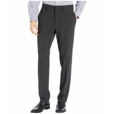 ケネスコール カジュアルパンツ ボトムス メンズ Stretch Flannel Slim Fit Flat Front Dress Pants Charcoal Heather