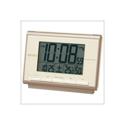 【正規品】セイコー SEIKO クロック SQ698C 電波 デジタル 目覚まし時計