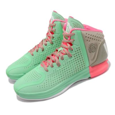 adidas 籃球鞋 D Rose 4 Restomod 男鞋 高筒 羅斯 玫瑰 4代 復刻 綠 灰 FZ0891