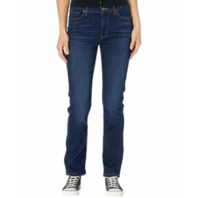 リーバイス レディース デニムパンツ ボトムス Classic Straight Jeans Cobalt Haze