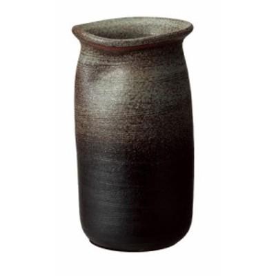 信楽焼陶器 傘立て 和風 モダン 洋風 茶 ブラウン 古陶傘立 高さ42.0cm