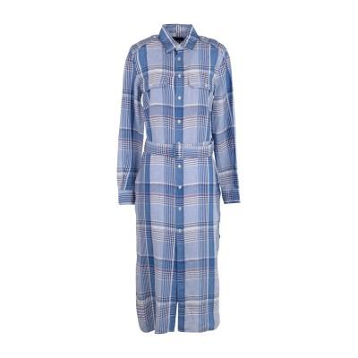 POLO RALPH LAUREN 7分丈ワンピース・ドレス アジュールブルー 2 麻 97% / コットン 3% 7分丈ワンピース・ドレス
