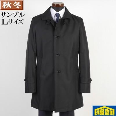 スタンドカラー コート メンズ Lサイズ ビジネスコートシャドーストライプ柄 SG-L 7000 SC57051