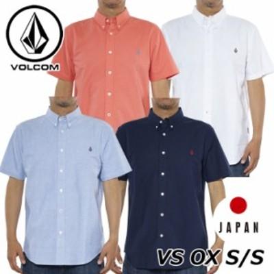 volcom ボルコム シャツ VS OX S/S メンズ 半袖 japan limited A04118JC 【返品種別】