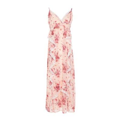TWENTY EASY by KAOS ロングワンピース&ドレス ライトピンク 40 ポリエステル 100% ロングワンピース&ドレス