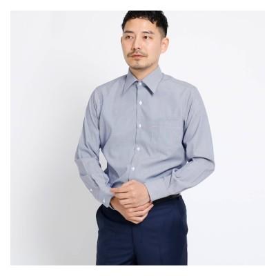 【タケオキクチ/TAKEO KIKUCHI】 ブロックピンオックスシャツ[ メンズ シャツ オックス ]