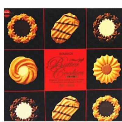 ブルボン ミニギフトバタークッキー缶 60枚入×1個