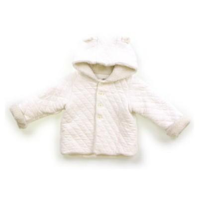 プチバトー PETITBATEAU コート・ジャンパー 80サイズ 女の子 子供服 ベビー服 キッズ