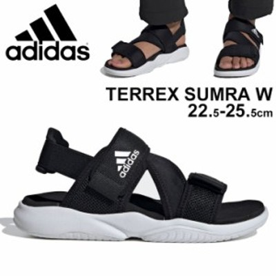 スポーツサンダル レディース ブラック 黒 アディダス adidas TERREX テレックス SUMRA W/アウトドア カジュアル 女性 サマーシューズ レ