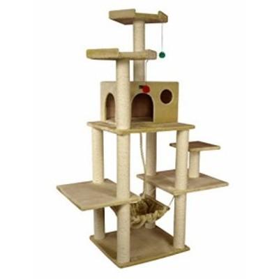 Armarkat A7202 72-Inch Cat Tree Beige [並行輸入品](新古未使用品)