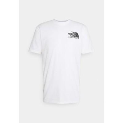 ノースフェイス メンズ Tシャツ トップス COORDINATES TEE - Print T-shirt - white white
