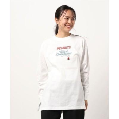 tシャツ Tシャツ PEANUTSコラボロンtee