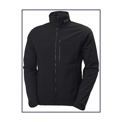 Helly Hansen Men's Paramount Water Resistent Windproof Breathable Softshell Jacket, 990 Black, X-Small【並行輸入品】