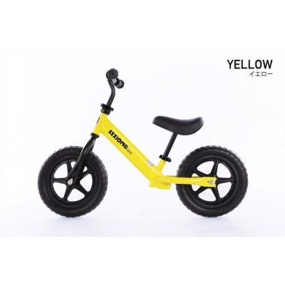 21Technology 4562320990202 子供用 幼児用 ペダルレッスン バランスバイク トレーニングバイク ギフトバック付 お誕生日 ギフト (YJS12-イエロー)