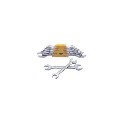 トップ工業 TOPライナースパナセット(ヤリ形)6丁組スパナL-6000(ミリ)/SS-6000A(ISO)/SS-6000B(ISO)