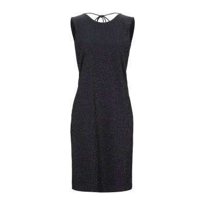 FISICO ミニワンピース&ドレス ブラック XS ナイロン 80% / ポリウレタン 15% / ポリエステル 5% ミニワンピース&ドレス