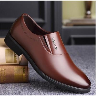シークレットシューズ ビジネスシューズ メンズ 紳士靴 通勤 フォーマル 背が高くなる靴 PUレザー シューズ快適 靴 歩きやすい通勤 リクエスト AlohaMahalo