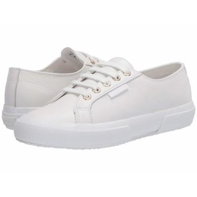 スペルガ スニーカー シューズ レディース 2750 Nappaleau Sneaker White/Gold