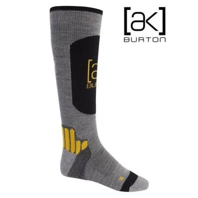 BURTON Men's Burton [ak] Endurance Sock Gray Heather バートン ソックス