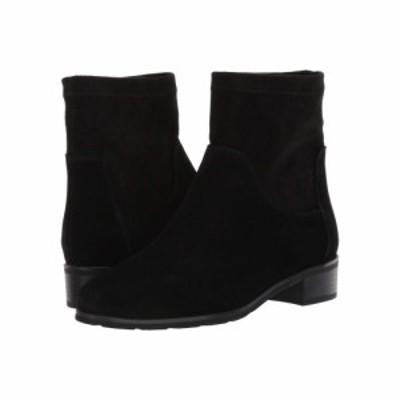 VALDINI レディース ブーツ シューズ・靴 Bella Waterproof Boot Black Suede