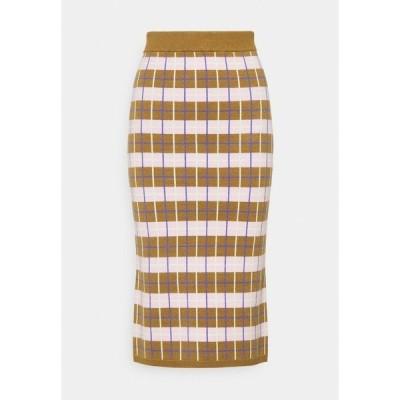 ヤス スカート レディース ボトムス YASHOPE SKIRT - Pencil skirt - butternut
