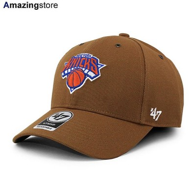 47ブランド カーハート ニューヨーク ニックス 【CARHARTT NBA MVP CAP/BROWN】 47BRAND NEW YORK KNICKS