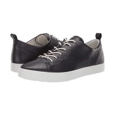 ECCO エコー レディース 女性用 シューズ 靴 スニーカー 運動靴 Gillian Trend Tie - Black/Dark Shadow Metallic Cow Nubuck