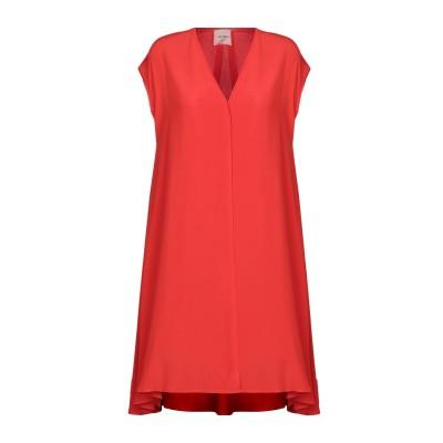 アリジ ALYSI ミニワンピース&ドレス レッド 42 アセテート 69% / シルク 31% ミニワンピース&ドレス
