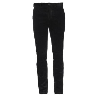 OLIVIER STRELLI パンツ ブラック 46 コットン 97% / ポリウレタン 3% パンツ