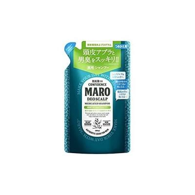 デオスカルプ 薬用 シャンプー [グリーンミントの香り] MARO マーロ 詰め替え 400ml メンズ