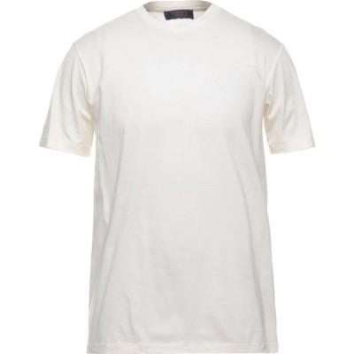 トラサルディ TRUSSARDI JEANS メンズ Tシャツ トップス T-Shirt Ivory