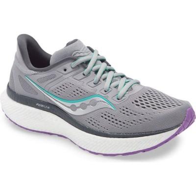 サッカニー SAUCONY レディース ランニング・ウォーキング シューズ・靴 Hurricane 23 Running Shoe Fog/Ultraviolet