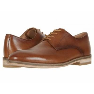 Clarks クラークス メンズ 男性用 シューズ 靴 オックスフォード 紳士靴 通勤靴 Oliver Lace Tan Leather【送料無料】