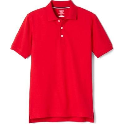 フレンチトースト French Toast メンズ ポロシャツ 半袖 トップス Young Uniform Short Sleeve Pique Polo Shirt - Red