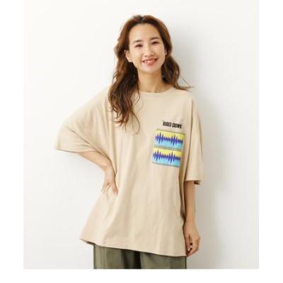 アウトドアパターンポケットTシャツ