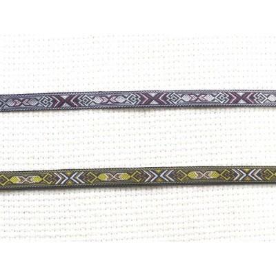 [0.9cm幅] タイ製チロリアンテープ(幾何学模様) 手芸用材料 リボン