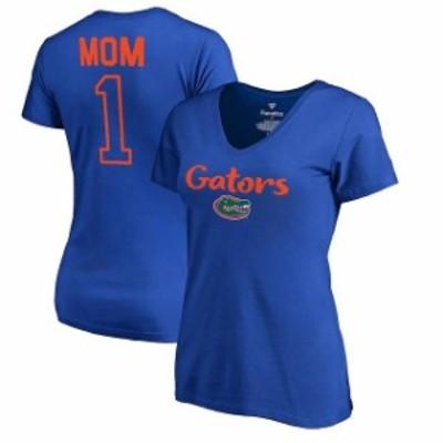 Fanatics Branded ファナティクス ブランド スポーツ用品  Fanatics Branded Florida Gators Womens Royal Number 1 Mo