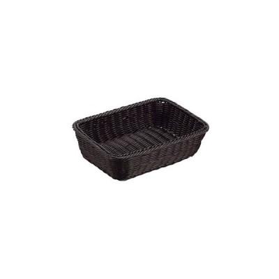 抗菌樹脂 角型バスケット DS100 15型 ブラック【 ディスプレイ用品 】