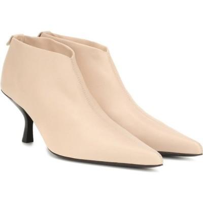 ザ ロウ The Row レディース ブーツ ショートブーツ シューズ・靴 bourgeoise leather ankle boots Sand