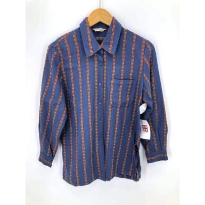 フルギ UNODOS ウールストライプシャツ レディース  中古 201127