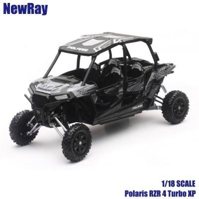 1/18 スケールモデル NewRay Polaris RZR 1000XP チタニウム
