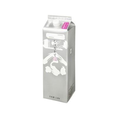菊正宗 しぼりたてギンパック 1.8L(1800ml) x1