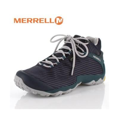 メレル カメレオン7 ストーム ミッド ゴアテックス J38561 NAVY/TEAL MERRELL CHAMELEON7 STORM MID メンズ トレッキングシューズ 靴 セール