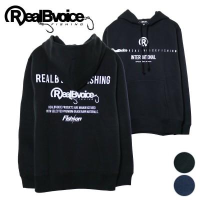 リアルビーボイス/REAL B VOICE FISHINGライン パーカー 20AWRBV-FH-015 裏起毛 プルオーバーパーカー 2カラー
