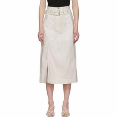 スリーワン フィリップ リム 3.1 Phillip Lim レディース ひざ丈スカート スカート White Belted Cargo Skirt White