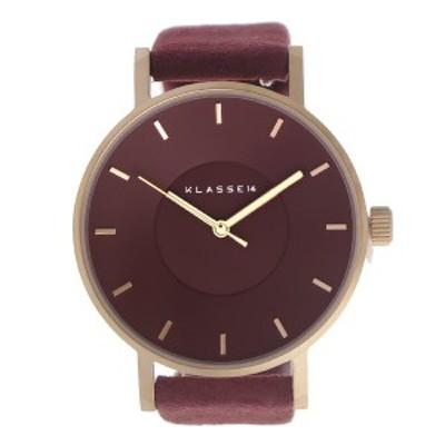 クラス14 KLASSE14 クオーツ ユニセックス 腕時計 VO17MV005W ワイン ワイン