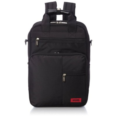 [サクソン] P300D PC対応 3way軽量ビジネスリュック SAXON 51740001 BK One Size